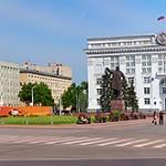 Площадь Советов, центр города Кемерово