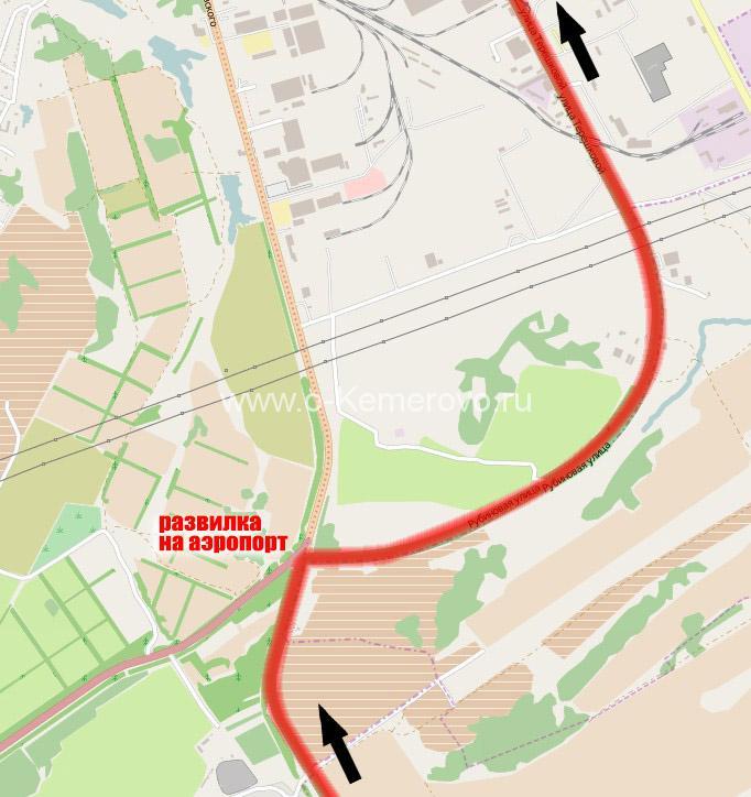 Как проехать через Кемерово