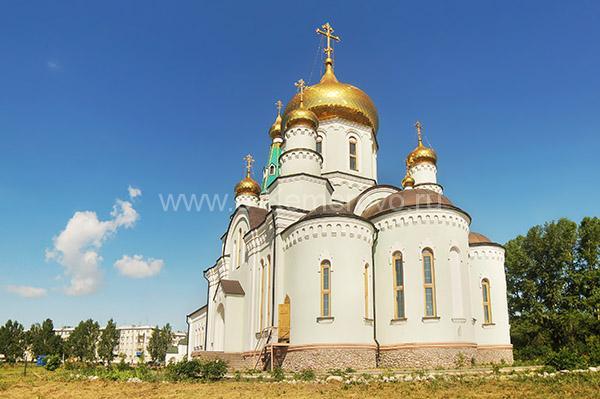 Церковь преподобного Сергия Радонежского в городе Топки, Кемеровская область