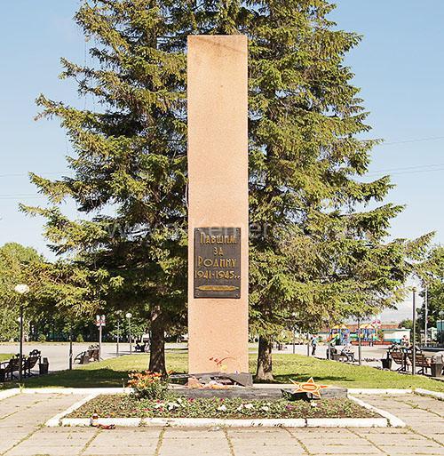 Памятник павшим за Родину в годы Великой Отечественной войны в городе Топки, Кемеровская область