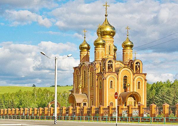 Свято-Троицкий собор, г.Осинники, Кемеровская область