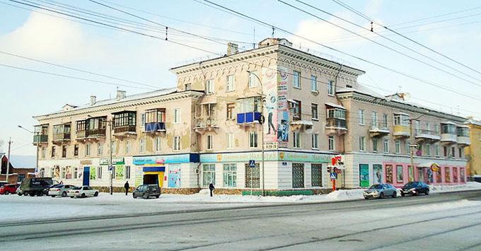 Улица Гагарина, г.Осинники
