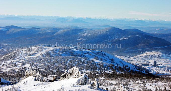 В окрестностях Таштагола Кемеровская область