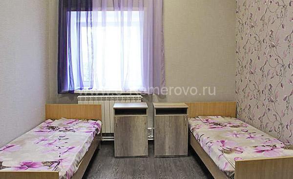 """комната в пансионате для пожилых людей """"Доброе сердце"""", в Кемерово"""