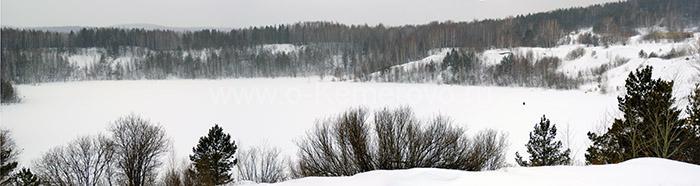 Апрелька озеро в Кемеровской области