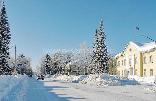 На улицах города, г.Мыски, Кемеровская область