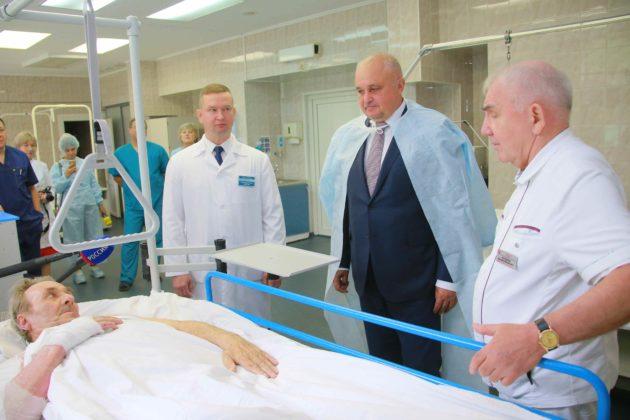 Реанимацию ожогового центра Кузбасса пополнили новым медицинским оборудованием