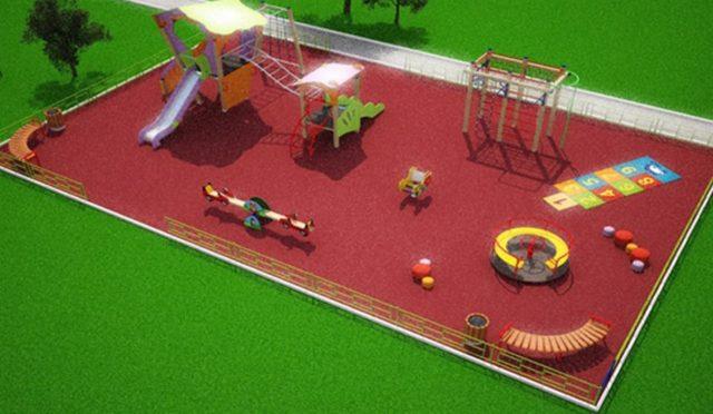 Еще 200 детских площадок появятся в городах Кузбасса