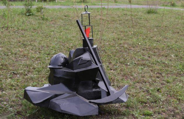 В Кемерове презентуют новую скульптуру «Сердце шахтёра»