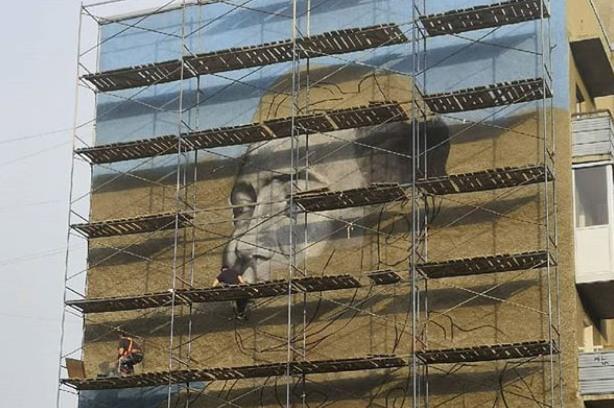 На фасаде дома в Кемерове появится портрет Юрия Двужильного