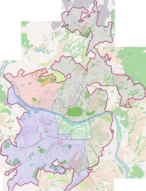 Районы города