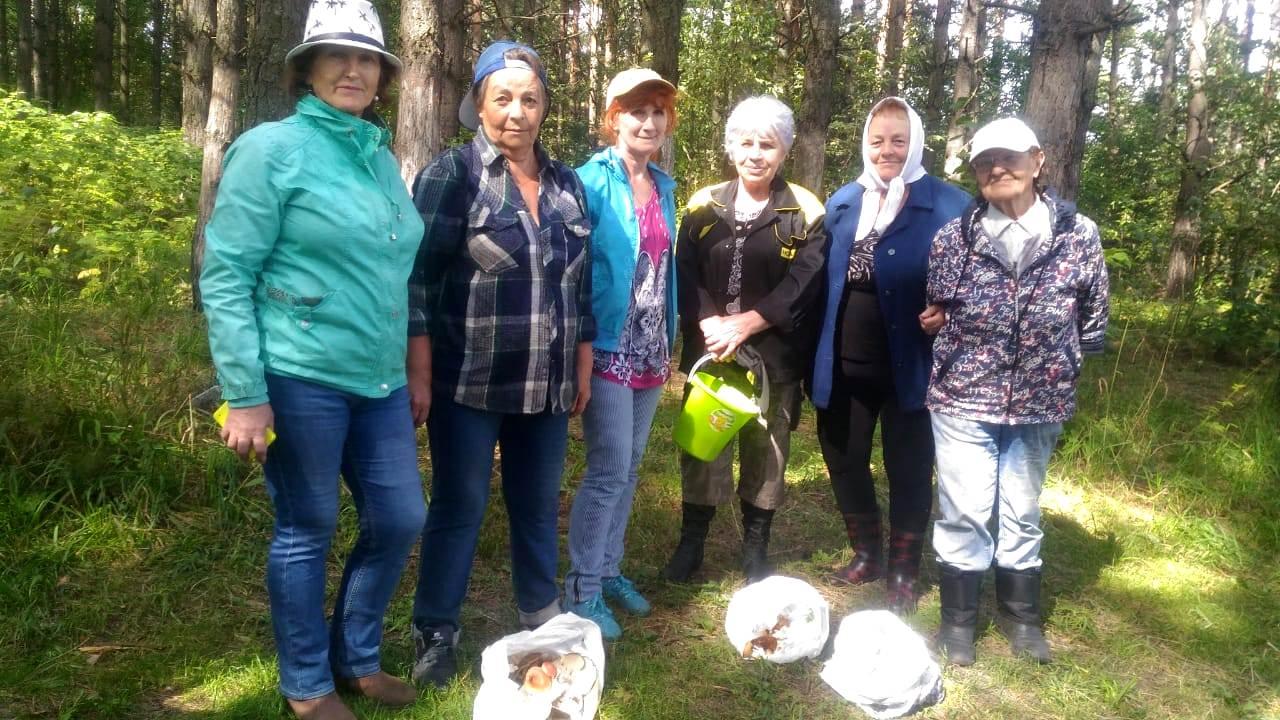 В Кузбассе пенсионеров возят в лес на экскурсию