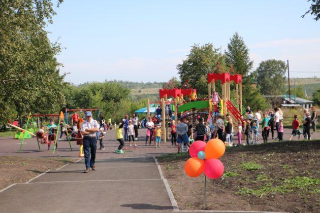 В Беловском районе после реконструкции открыли парк отдыха