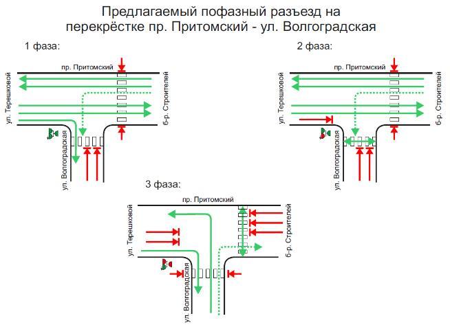 В столице Кузбасса изменится схема движения на Притомском проспекте