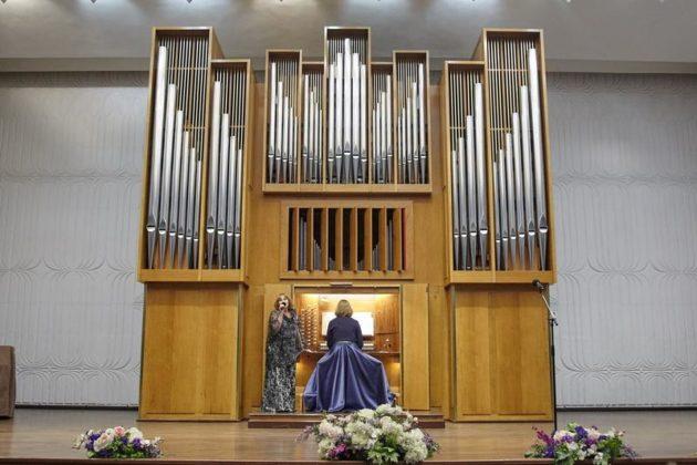 В филармонии Кузбасса вновь зазвучал орган