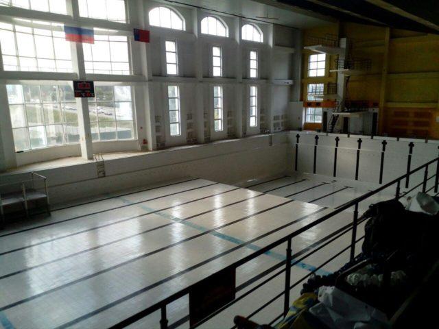 Кемеровский бассейн «Лазурный» должны открыть к 1 ноября