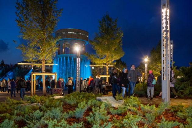 Для кемеровского «Парка Ангелов» создан виртуальный гид и зимняя концепция