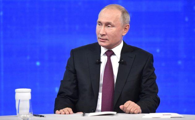 Путин поддержал предложение единороссов о выходном 31 декабря