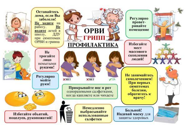 Эпидемия ОРВИ и гриппа в Кузбассе идет на спад