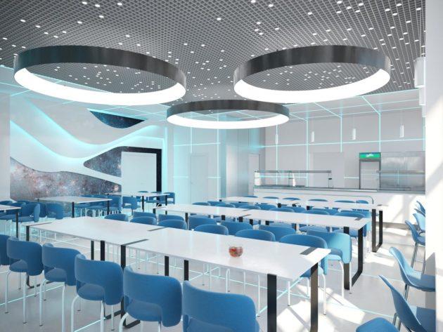 В Кузбассе проектировщики представили концепцию оформления центра для одаренных детей