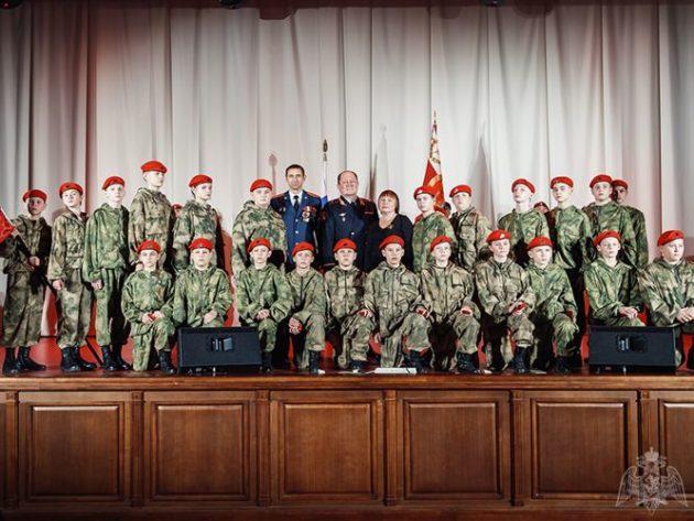 В Кузбассе появился первый класс Росгвардии