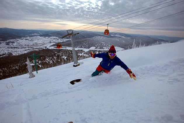 В Шерегеше открывается горнолыжный сезон