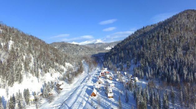 Новый туристический приют в районе Поднебесных Зубьев готовится к открытию