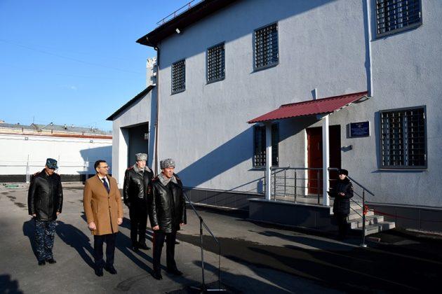 В Кузбассе открыли ультрасовременный изолятор временного содержания
