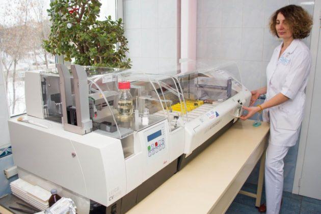 Современное оборудование получил Кемеровский онкодиспансер