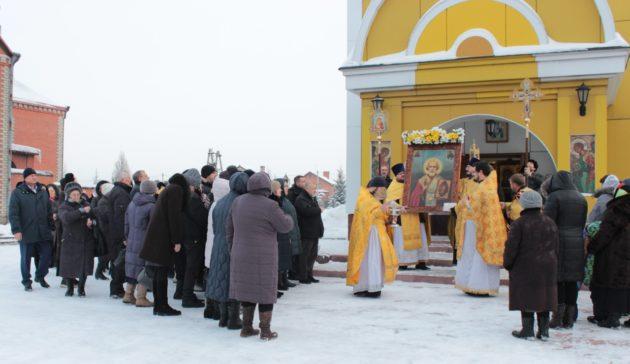 После реставрации в Полысаеве открыли храм святителя Николая Чудотворца