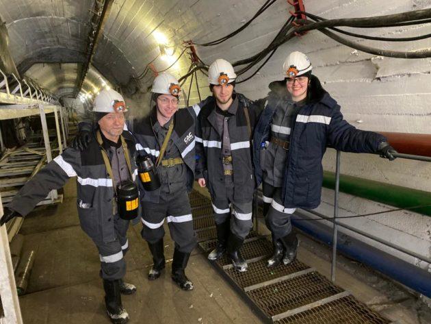 Подземный пленэр: кузбасские студенты спустились в шахту