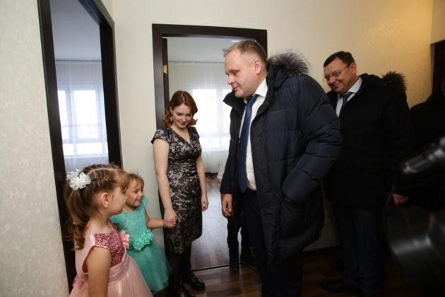 В Кузбассе впервые заселен дом по программе сейсмоустойчивости