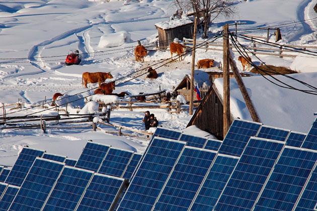 Жители 38 поселков в Горной Шории получат солнечные батареи