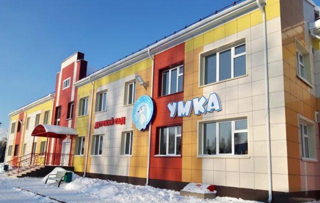В Киселевске завершается строительство детского сада