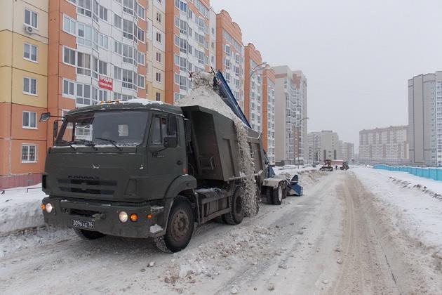 Из кузбасских городов и районов вывезли 2,1 млн кубометров снега
