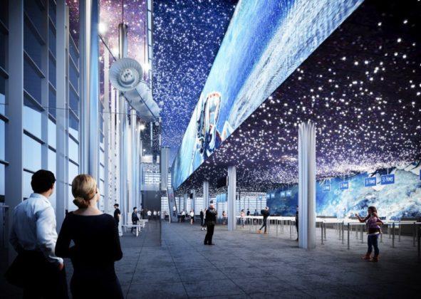 Опубликован проект нового терминала кемеровского аэропорта