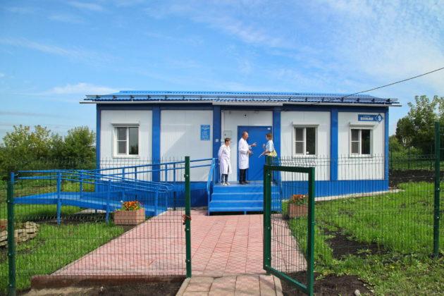 В Гурьевском районе открылись сразу две «сельские поликлиники»