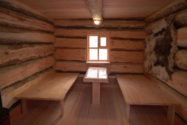 В Кузбассе построили аутентичную избу шорского охотника