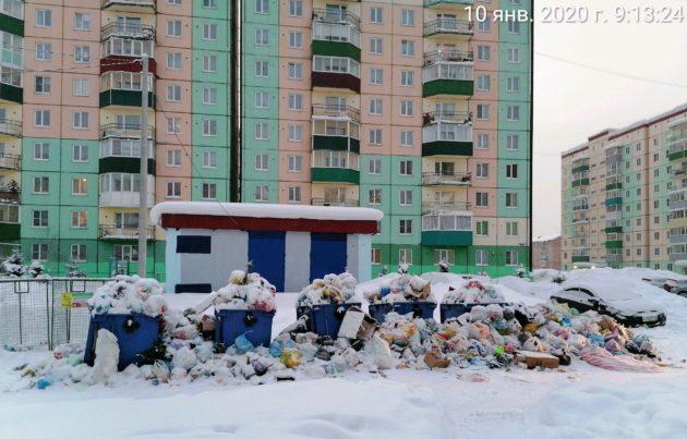 Свернуть горы мусора