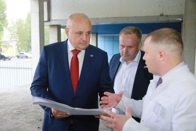 Около миллиона рублей выделят Междуреченску на строительство многопрофильной больницы