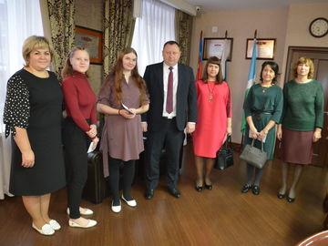 Молодые педагоги Новокузнецкого района получили подъемные