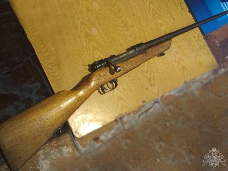 Кузбассовец на трассе нашел охотничье ружье