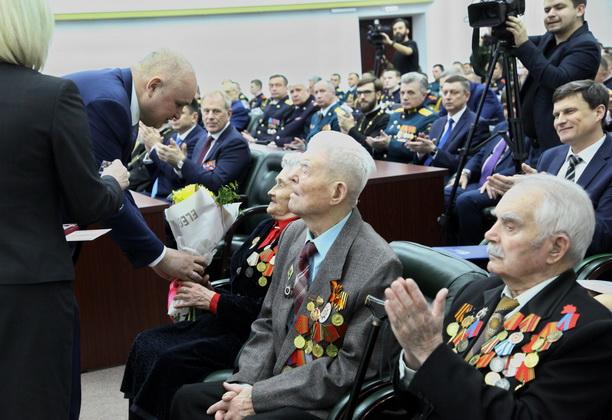 Прием в честь Дня защитника Отечества прошел в Кузбассе