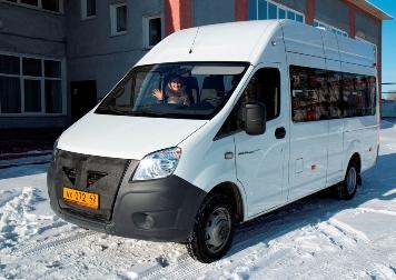 В Чебулинском округе появился новый микроавтобус для туристов