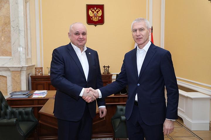 Сергей Цивилёв обсудил с главой Минспорта РФ реализацию федерального проекта