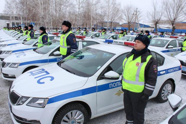 Автопарк ГАИ Прокопьевска пополнился новыми иномарками
