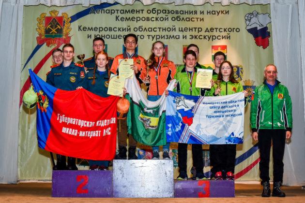 Более 200 кузбасских школьников приняли участие в соревнованиях «Юный спасатель»