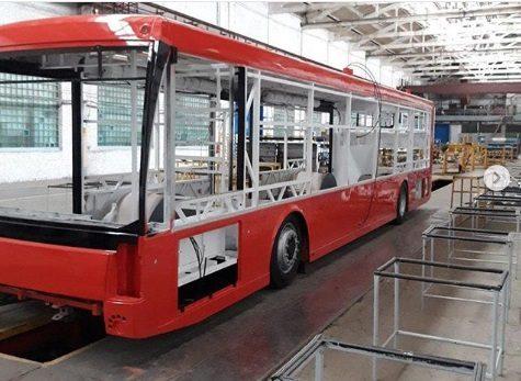 В Новокузнецке на линию выпустили новые электробусы