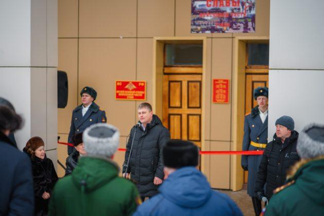 В Юрге открылся музей «Боевой Славы»