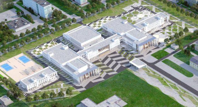 В Кемерове возведут гофрированные здания Культурно-образовательного комплекса